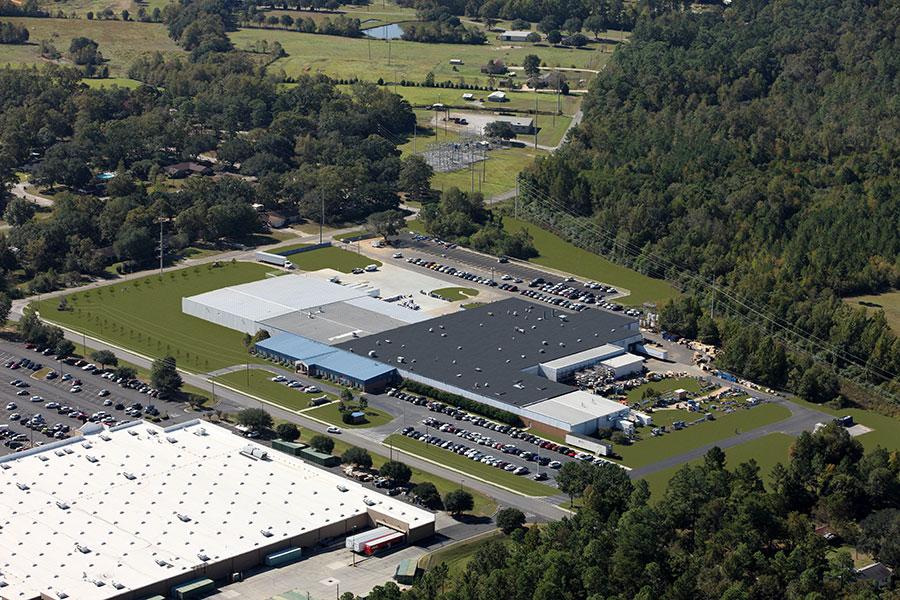 Quincy Compressor Plant - Aerial View