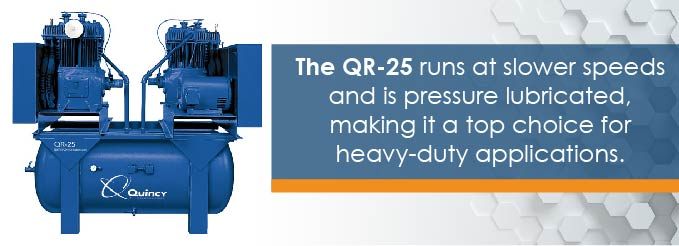 qr-25 air compressors for energy exploration