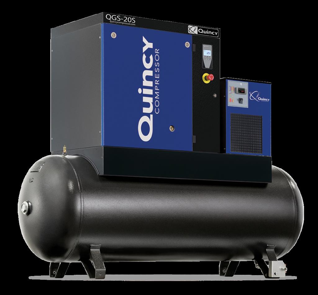 Rotary Screw Compressor : Rotary screw air compressors quincy compressor