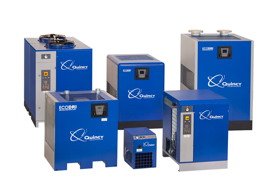 Refrigerated And Desiccant Dryers For Sale Quincy Compressor