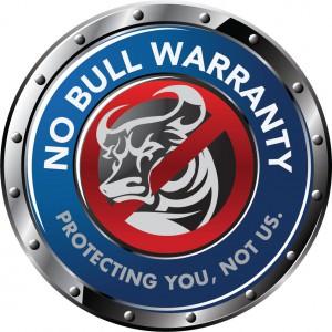 No Bull Warranty