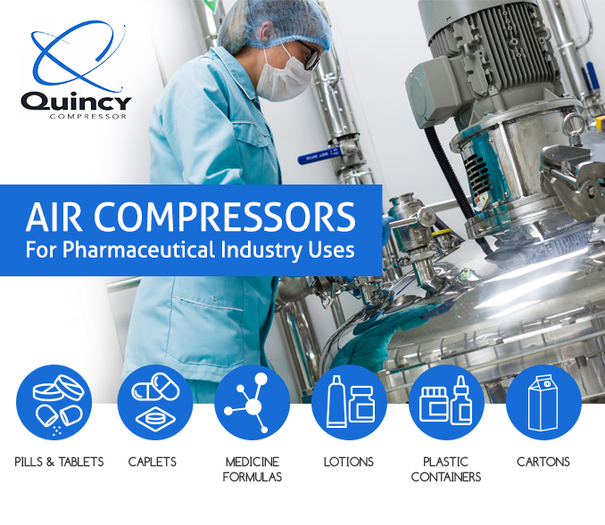 Air Compressor Pharmaceutical Uses