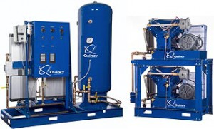 Two and Three Stage Air Compressor | Quincy Compressor