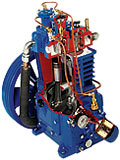 QR-25 2 Stage reciprocating compressor
