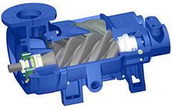 rotary screw air compressor horsepower