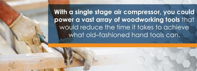 single stage versus dual stage air compressor