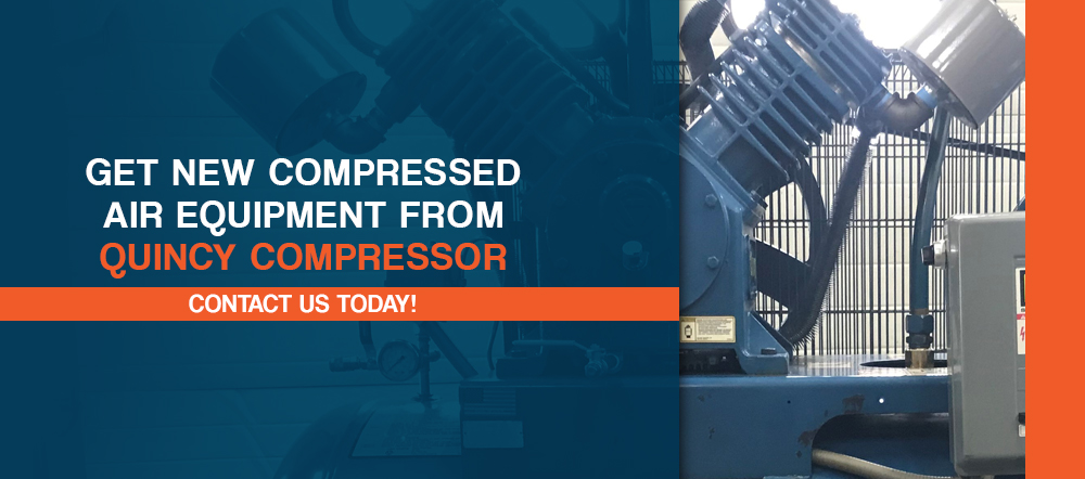Get New Compressed Air Equipment From Quincy Compressor