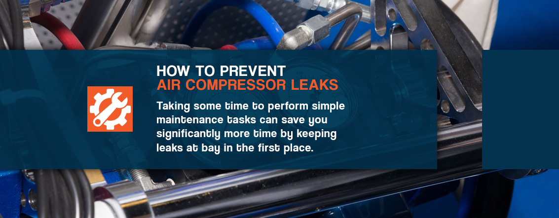 How to Prevent Air Compressor Leaks