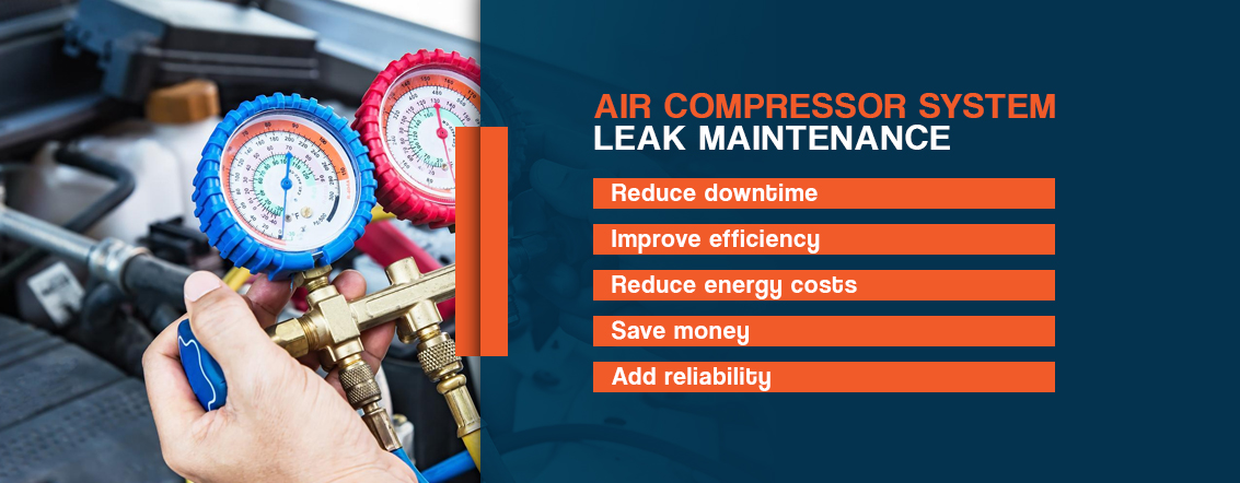 Air-Compressor-System-Leak-Maintenance