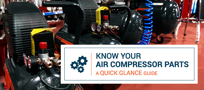 A Guide To Air Compressor Parts Quincy Compressor