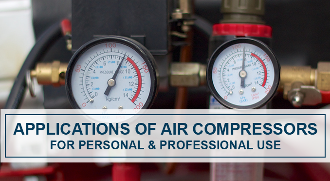 How To Use An Air Compressor >> Applications Of Air Compressors How To Use Quincy Compressor