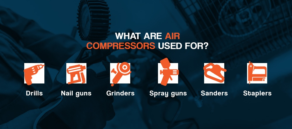 What Are Air Compressors Used For?