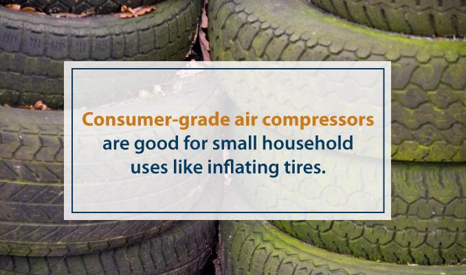 Consumer grade air compressors