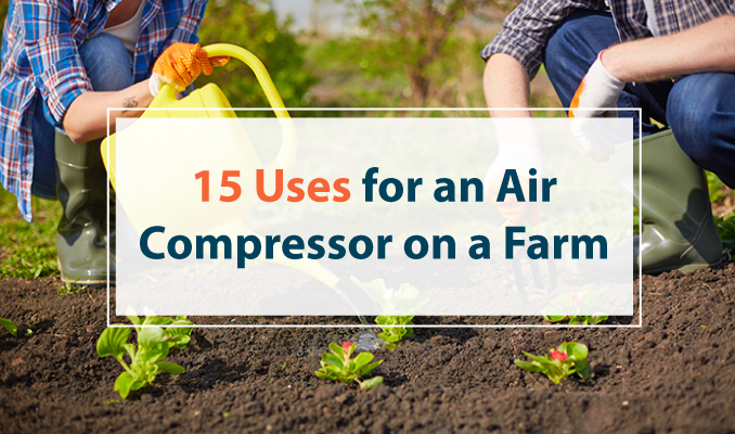 air compressor uses on a farm