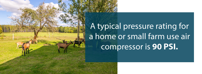 air compressor farm uses
