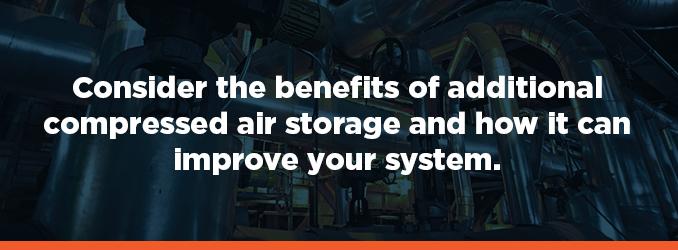 compressed air storage system