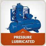 pressure lubricated compressor