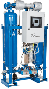 Quincy QHP heated purge desiccant dryer