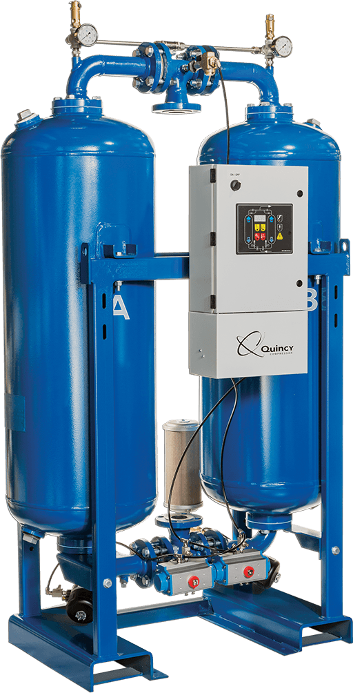 Desiccant Air Dryer System Quincy Compressor