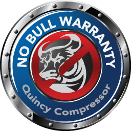 Quincy compressor no bull warranty