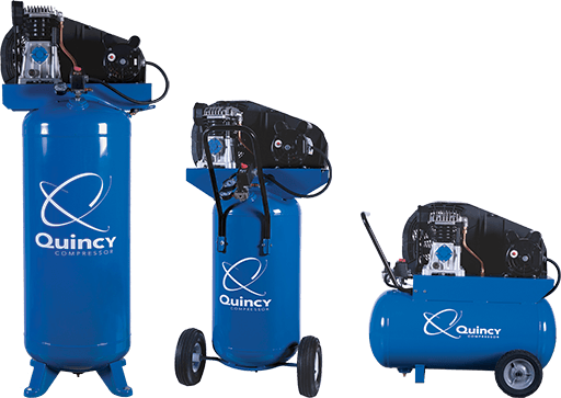 Single stage air compressor quincy compressor fandeluxe Choice Image