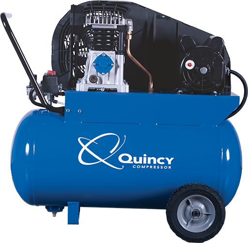 Reciprocating piston air compressor quincy compressor single stage fandeluxe Choice Image
