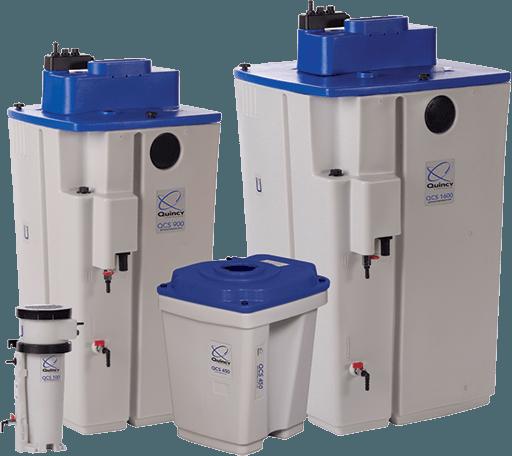 Quincy QCS series condensate purifiers
