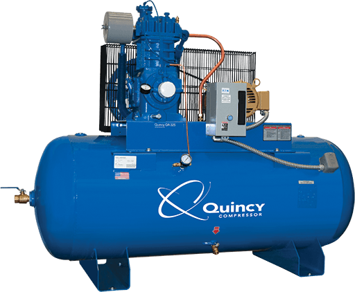 Reciprocating piston air compressor quincy compressor qr 25 fandeluxe Choice Image