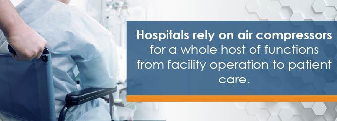 hospital air systems are savings