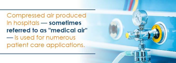 hospital air systems savings