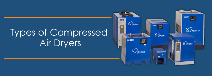 Types Of Compressed Air Dryers Quincy Compressor