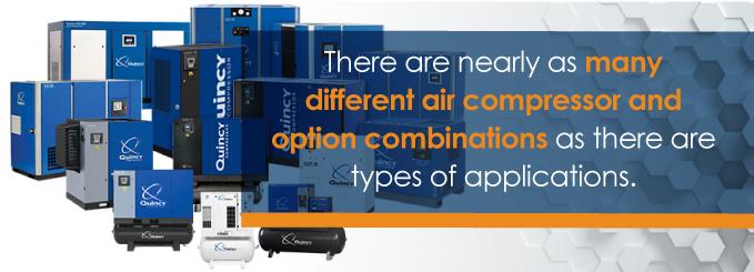 air compressor combinations