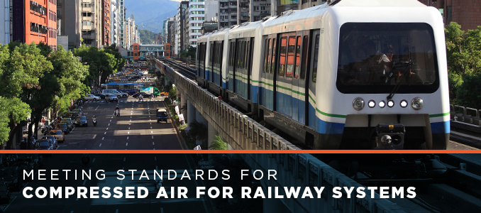 standards for compressed air in railway systems