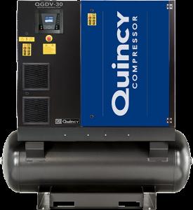 Quincy QGDV-30 gear drive compressor
