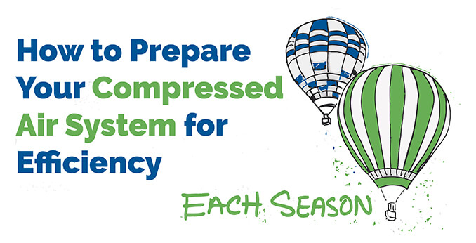 How to Prepare Your Compressed Air System for Efficiency in Each Season