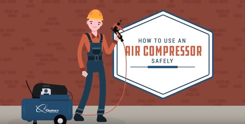 How To Work Safely With Air Compressor Air Compressor Safety