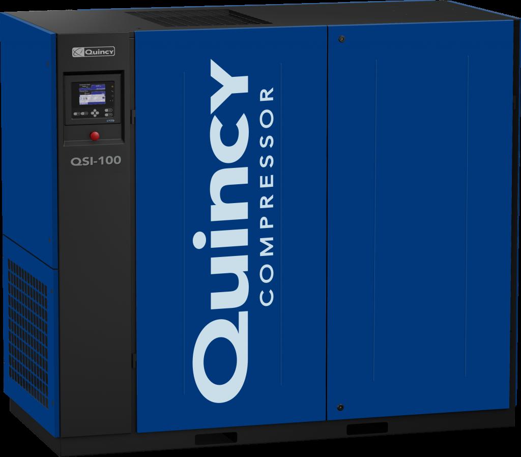 Quincy QSI-100 rotary screw air compressor