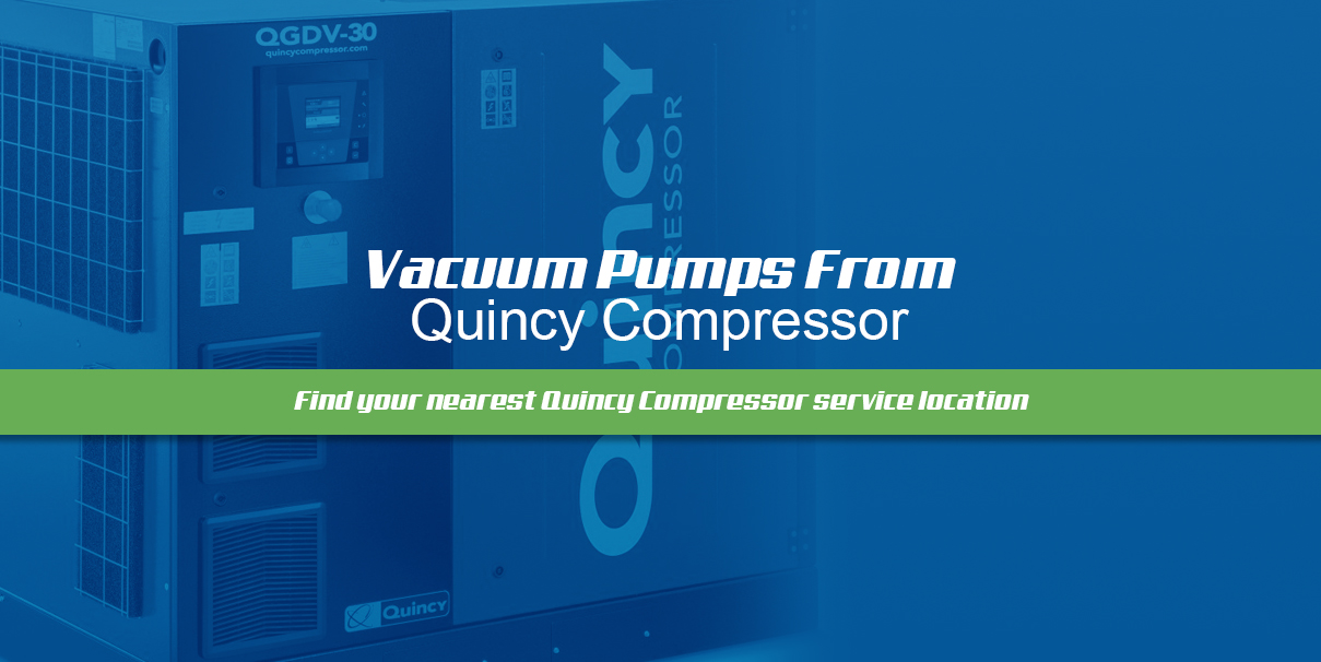 vacuum pumps from quincy compressor