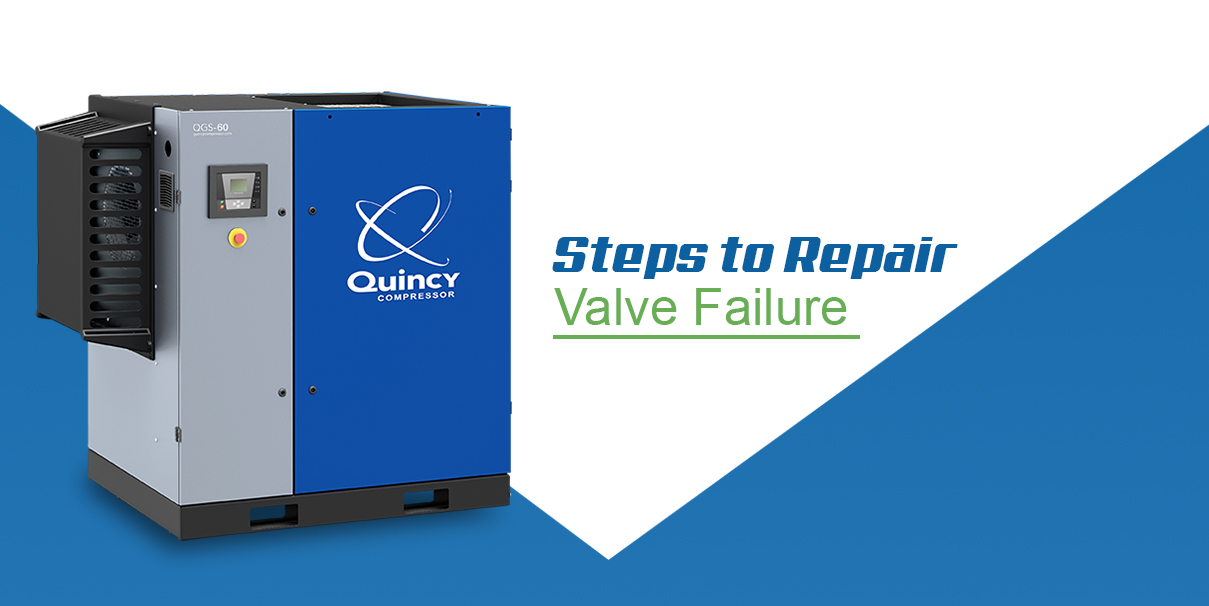 steps to repair valve failure