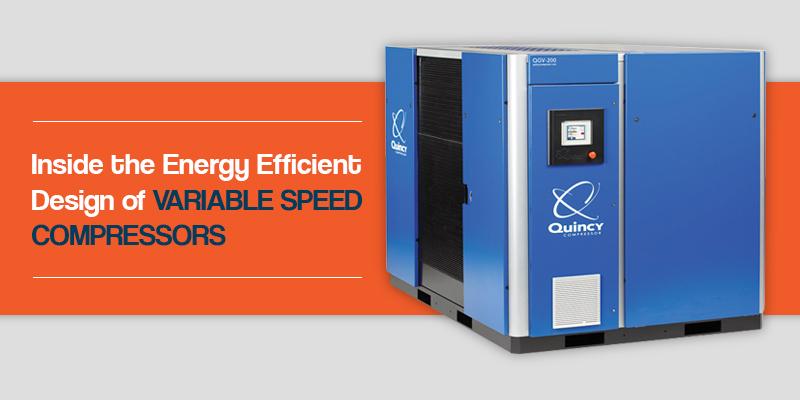 inside design of variable speed compressors