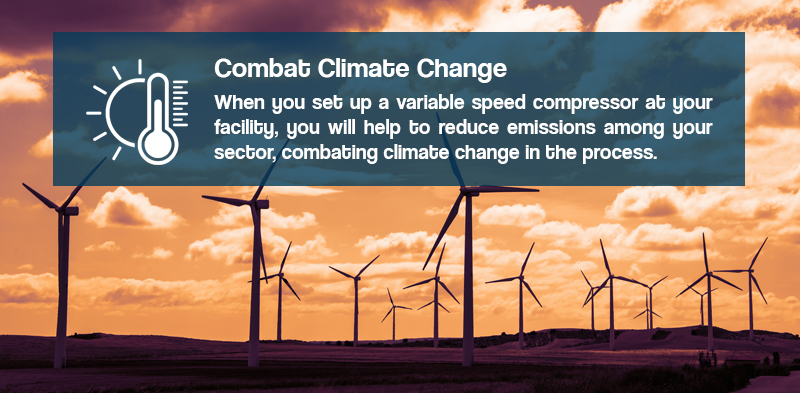 variable speed compressors can help combat climate change