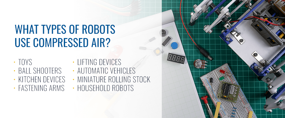 What Types of Robots Use Compressed Air?