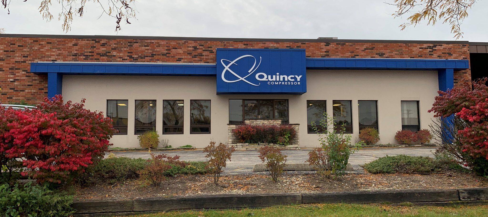Quincy Compressor Building in Addison, IL