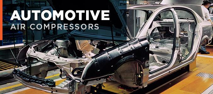 Automotive air compressors
