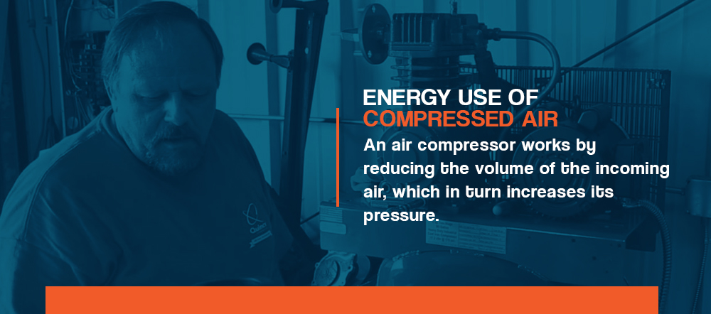Energy Use of Compressed Air