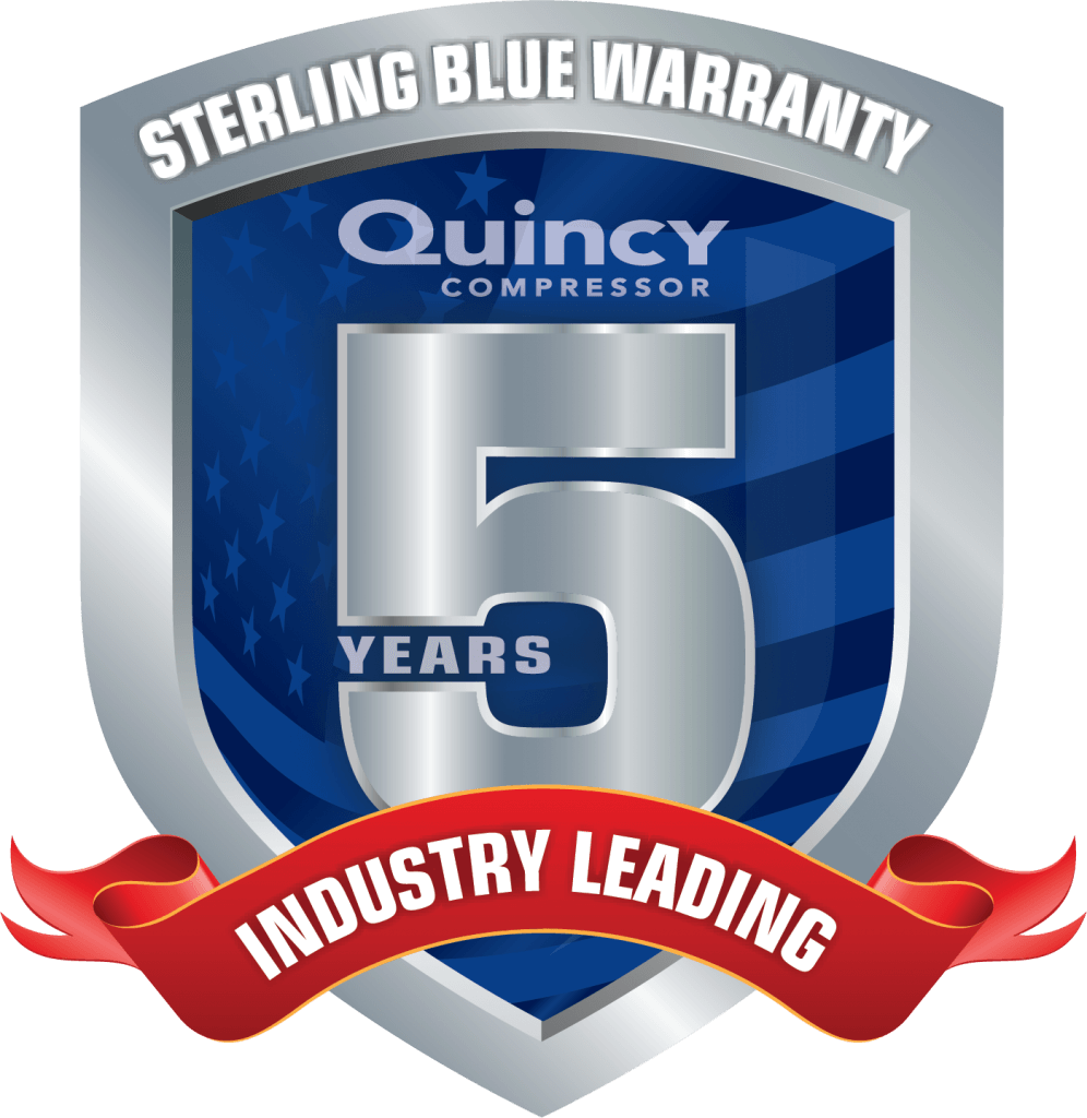 Quincy Compressor 5 Year Warranty