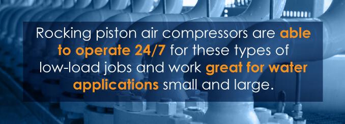 why get piston air compressor