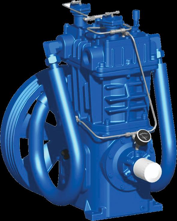 Quincy QRNG-370 natural gas compressor