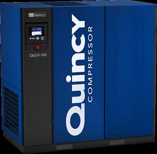 Quincy QGV-50 rotary screw air compressor