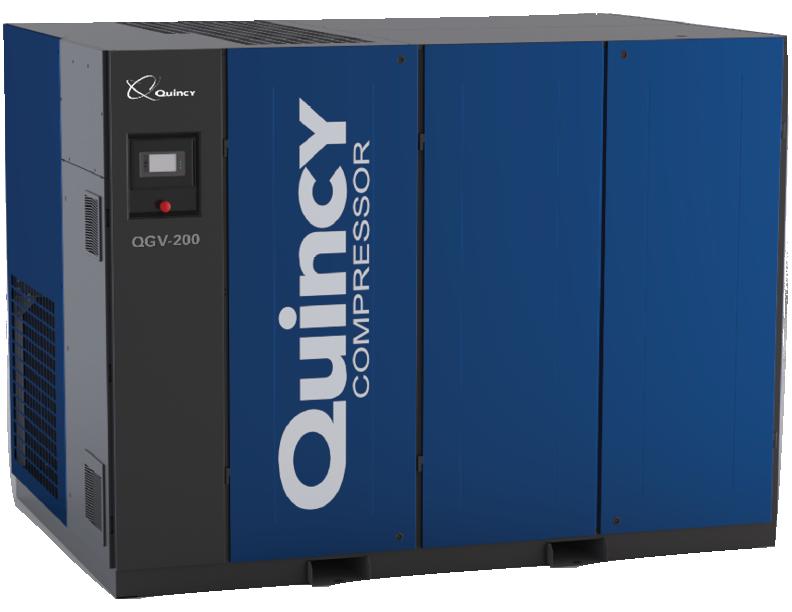 Quincy QGV-200 Rotary Screw Air Compressor